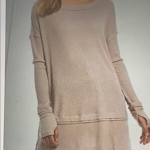 FREE PEOPLE CLASSIC  OVERSIZED THERMAL  😍